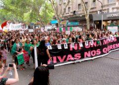 Marchas y paro de mujeres en todo el país por el 8M
